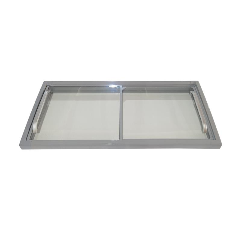 Chest Freezer Glass Door with Aluminum Handle