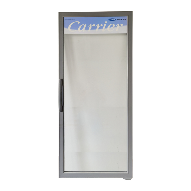 Upright Refrigerator Freezer Glass Door