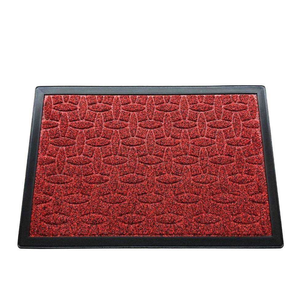 Add to CompareShare Best Supplier Wholesale Doormat Entrance Cheap Carpet rubber Door Mat Featured Image