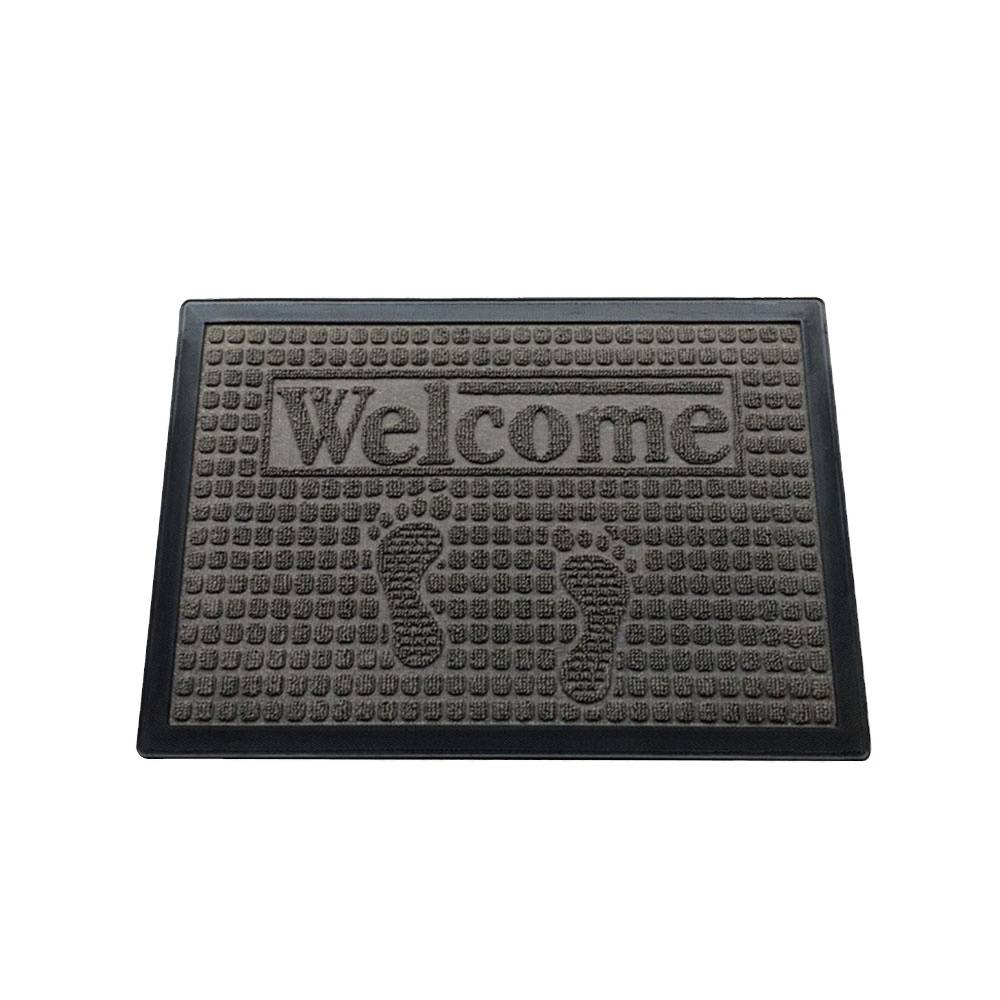 High quality rubber doormat pp surface floor mat with cheap price Featured Image