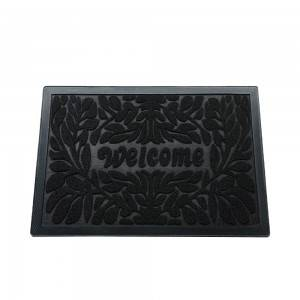 china supplier cheapfloormat pp rubber door mat foot mat