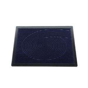 pp entrance rubber edge doormat with high quality