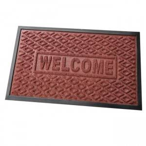 rubber shoe sanitizer mat pp surface disinfection carpet outdoor sanitizing door mat cheap sanitization floor mat