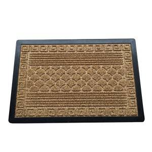 High quality PPE Polystyrene Mat , Grass Lawn Multi Color Door Mat