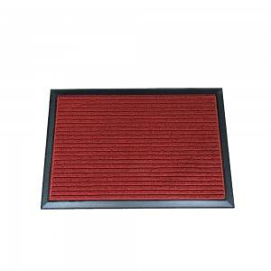Amazon exclusive pp surface rubber doormat aluminum entrance mat with high quality