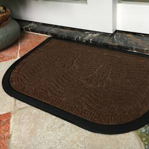 100%Rubber Backing Cheap Rubber Foot Mat