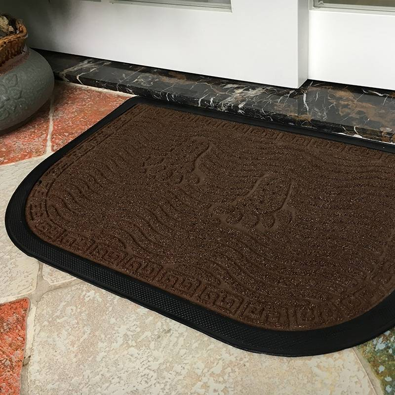 100%Rubber Backing Cheap Rubber Foot Mat Featured Image