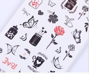 customized specifications, customized beautiful patterns, exquisite tattoo stickers