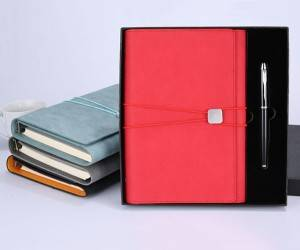 Customized leather color, customized jewelry outer packaging color, customized multi-function gift notepad