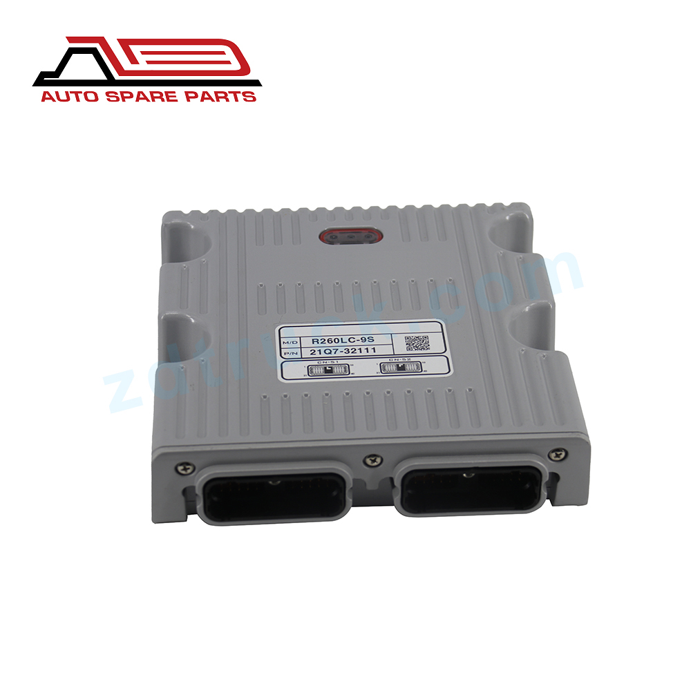 HOT SELL EXCAVATOR MCU CONTROLLER 21Q7-32110 21Q7-32111 FOR CRAWLER EXCAVATOR R260LC-9S for Hyundai