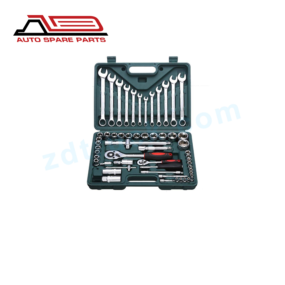 61 pieces Socket Wrench Set Professional Auto Repair Tool Kit Hardware Toolbox Car Boat Repair Tool Hand Tool Kit