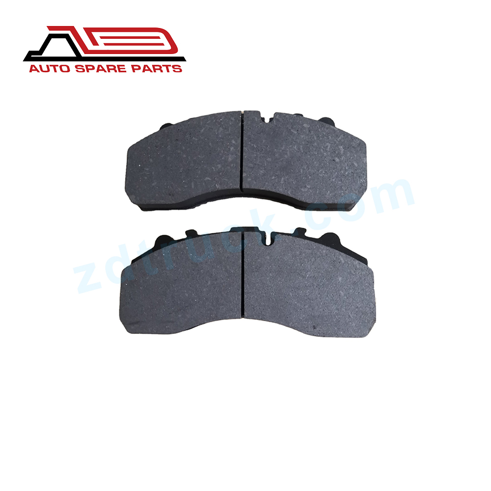 truck brake pads  002 420 7820 for MAN/ MERCEDES BENZ