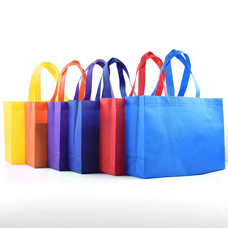 Stock Promotional Colored Non Woven Tote Shopping Bag Featured Image