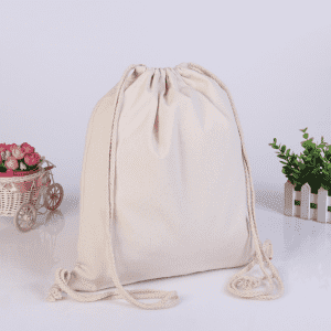 Eco-Friendly Drawstring Bag Cotton Gift Bag Drawstring Drawstring Cosmetic Bag