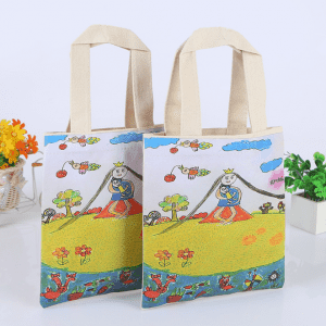 Factory supplier colorful printing canvas bag cotton canvas tote/organic cotton bag