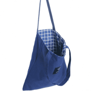 Eco-friendly Large Capacity Portable Reusable Shopping Bags Blank 100% Cotton Canvas Tote Bag