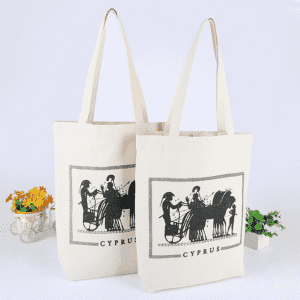 Promotional shopping cotton bags Canvas Tote Bag With Gusset