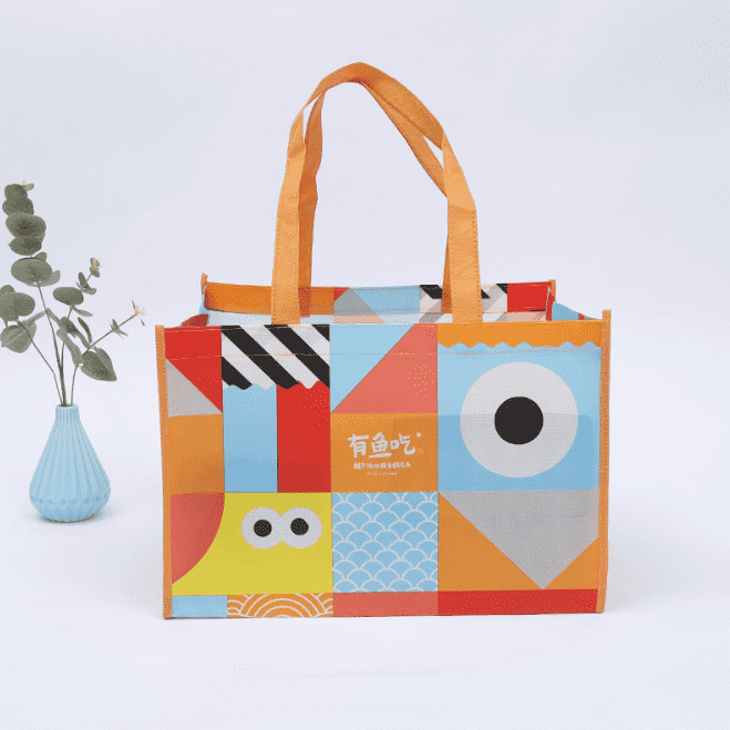 Laminated Non Woven Bag/Non Woven Shopping Bag/Cute Reusable Shopping Bag Featured Image