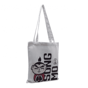 Promotional blank cotton tote grocery canvas bags with custom printed logo