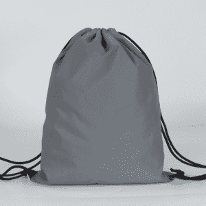 Grey polyester bundle pocket marathon simple backpack customized sample