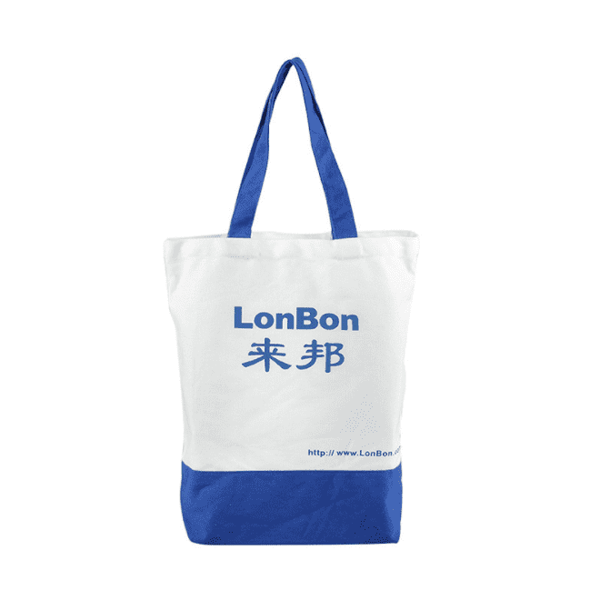 Grocery shopping eco-friendly 100% cotton canvas tote bag with gusset Featured Image