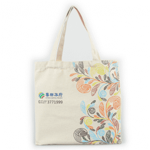 Plain Reusable cotton Grocery Shopping Bag wholesale eco-friendly Natural canvas tote bags