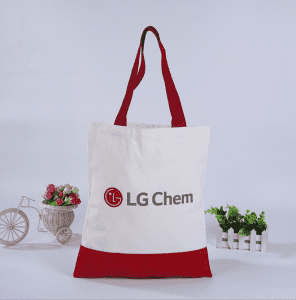 Promotional Custom Logo Printed Eco-friendly Elk Organic Blank Cotton Canvas Tote Bag