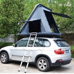 Tri-Angle Hard top folding car roof tent