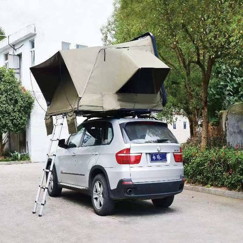 Hard top folding car roof tent Featured Image