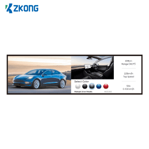 Zkong all sizes 23 Inch 35 inch 55 inch 65 Stretched LCD screen advertising player digital signage touch screen video display