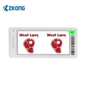 China wholesale Price Tag Label Sticker - esl digital price tag electronic shelf label – Zkong