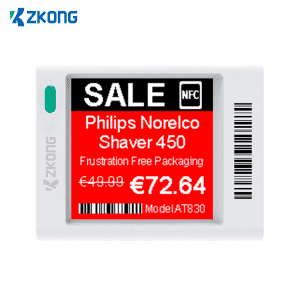 Cheap PriceList for Retail Shelf Price Tags - Zkong eink price display wholesale nfc tag electronic shelf label manufacturers – Zkong