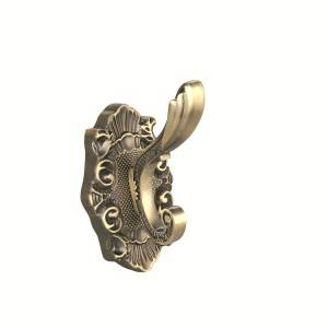 European Hook zinc alloy clothes