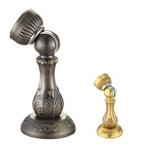 Zinc alloy door stops European style color as customized