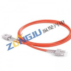 SC To SC OM2 Duplex Patch Cord