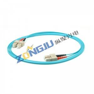 SC to SC OM3 Duplex Patch Cord