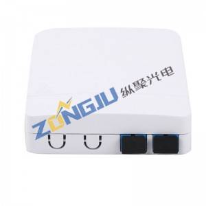 FTTH Fiber Optical Face Box  ZJ202