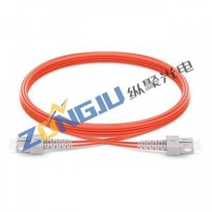 SC To SC OM1 Duplex Patch Cord