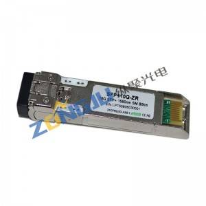 10Gb/s 80KM SFP+ Optical Transceivers OPSP551X3CDL80