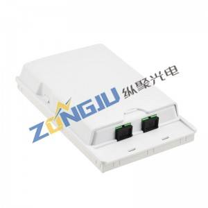 Telescopic FTTH Fiber Optical Face Box ZJ201