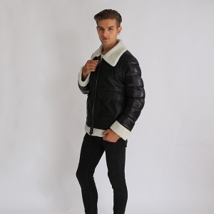 Factory Wholesale Men Apparel Fashional Clothes Down Short Coat