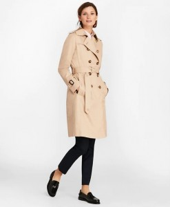 Spring Long Wrap Trench Coat for Women