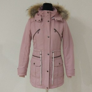 Super warm winter women  puffer long outdoor jacket