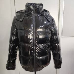 Manfacturer OEM and ODM shiny men winter padded jacket