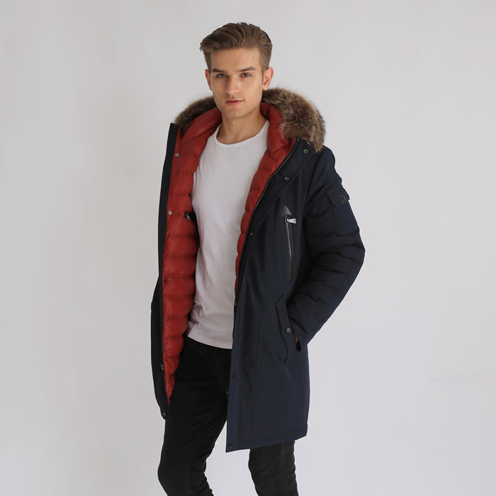 Super Warm Winter Men Apparel Formal Wear Padded Jacket Featured Image
