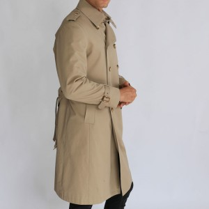 Men Apparel Formal Wear Long Windbreaker Jacket