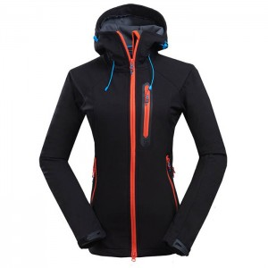 Sport Outwear jacket Wholesale customized  women waterproof and quick dry soft shell Polar Fleece Jacket short outdoor Jacket
