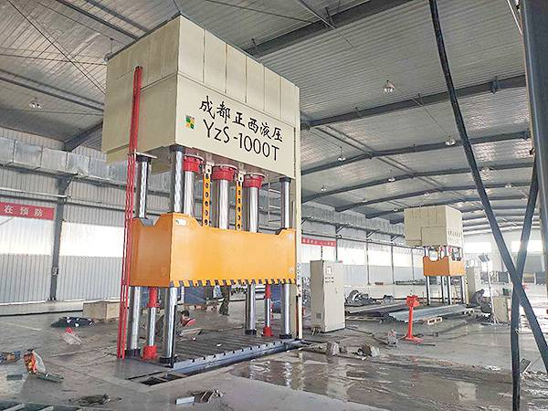 1000T 4 column hydraulic press for SMC