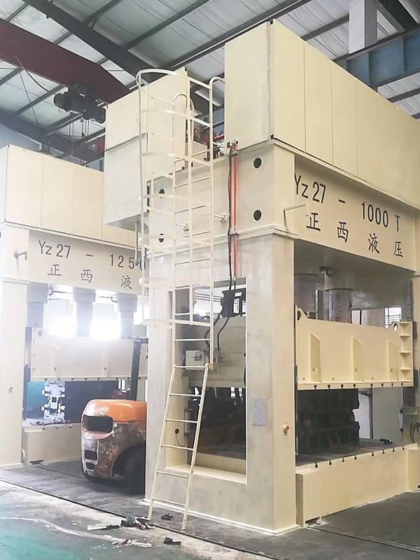 1000T H frame deep drawing machine