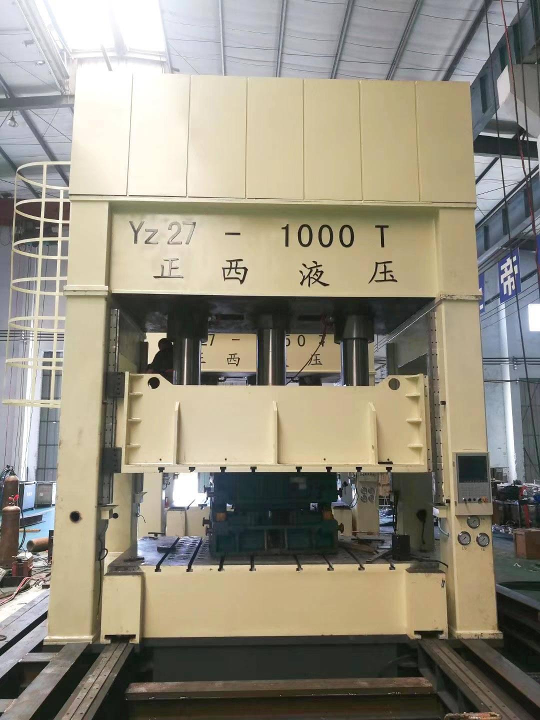 1000T on deep drawing machine